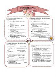English worksheet: Conditional Sentences Worksheet.