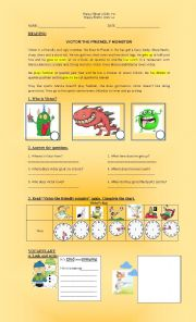 English Worksheet: happy street 2 units 7-9// Happy earth 1 Units 1-4