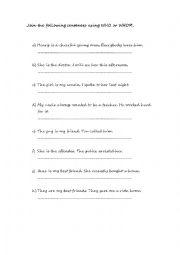 english worksheets who vs whom worksheet. Black Bedroom Furniture Sets. Home Design Ideas