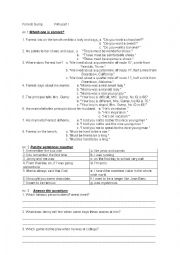 English Worksheet: Forrest Gump film - while viewing activities