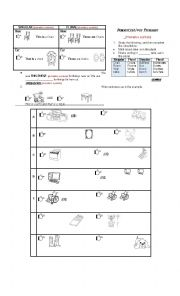 English worksheets singular plural worksheets page 22 for Bureau plural form