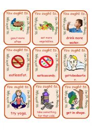 English Worksheet: You Ought To Go Fish