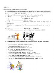 PRESENT PERFECT SIMPLE AND CONTINUOUS-PAST AND COMPARATIVES/SUPERLATIVES