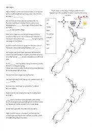 English Worksheet: Weather forecast - New Zealand