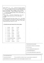 English Worksheet: technical english: computer