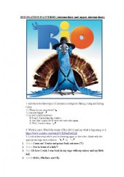 Intonation patterns - RIO (2011) + adjectives (upper int)