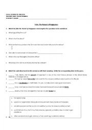 English Worksheet: the pursuit of happyness movie worksheet