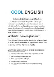 COOL ENGLISH interactive esl site