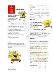Spongebob theme song