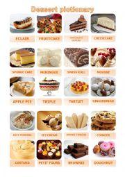 Dessert Pictionary