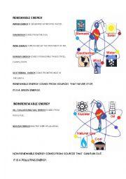 English Worksheet: ENERGY