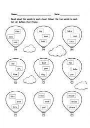 rhyming words pdf free download
