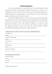 English Worksheet: Pen pals