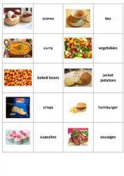 British Food - memory