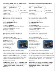 English Worksheet: Song I still haven´t found what I´m looking for