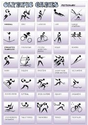 English Worksheet: OLYMPIC GAMES 2