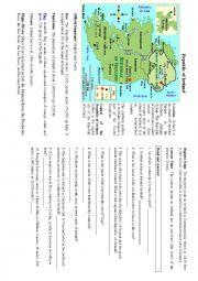 English Worksheet: Ireland facts