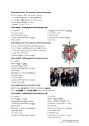 English Worksheet: Bon Jovi - It�s my life