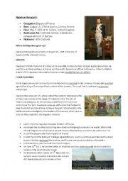 english worksheets napoleon bonaparte. Black Bedroom Furniture Sets. Home Design Ideas