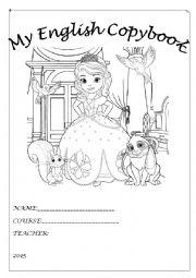 English Worksheet: English copybook