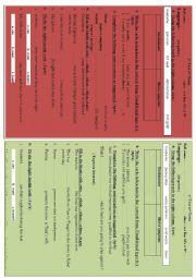 English Worksheet: test 1YB Morocco