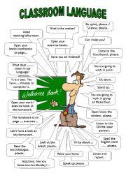 Classroom Language/ teacher