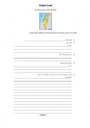 English Worksheet: israel quiz