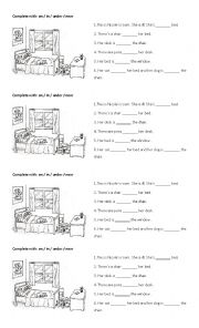 Prepositions ON - IN - UNDER - NEAR