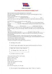 English Worksheet: How to be English - Making tea