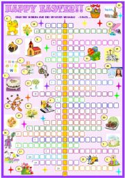 Easter:Crossword puzzle