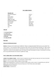 English Worksheet: The Sound of Music - adapted script for school plays/musicals