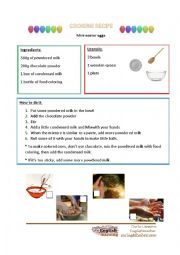 Easter cooking recipe