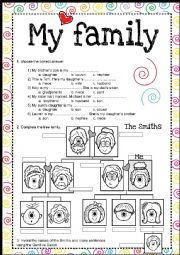 Family & Saxon Genitive PRACTICE
