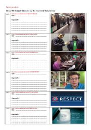features of racism and anti racism compaigns ( 6 video comprehension)