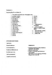 English Worksheet: Expressing preferences
