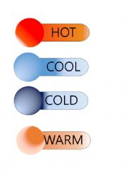 English Worksheet: Temperature Printable