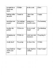 english worksheets verb patterns dominoes gerunds and. Black Bedroom Furniture Sets. Home Design Ideas