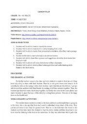 English Worksheet: storytelling