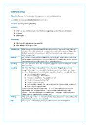 English Worksheet: Dumpster Diving