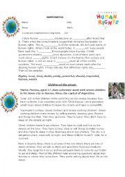 English Worksheet: English Final Test 3rd grade