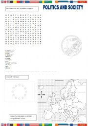 English Worksheet: The European Union
