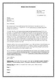 Complaint Letter Generators
