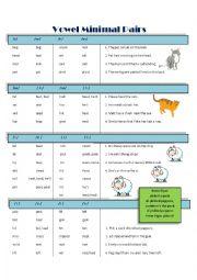 Minimal Pairs Practice Page 2