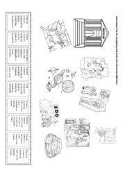 English Worksheet: Museum