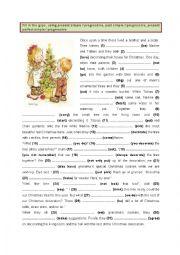 English Worksheet: Present, Past & Present perfect - Simple & Progressive (4)
