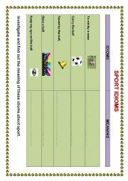 english worksheets sport worksheets page 51. Black Bedroom Furniture Sets. Home Design Ideas