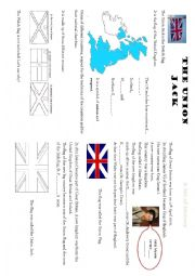 English Worksheet: The Union Jack - CLIL - History and Geography