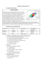 English Worksheet: Technical English Revision Test