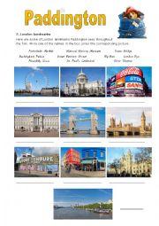 English Worksheet: Paddington pt 2