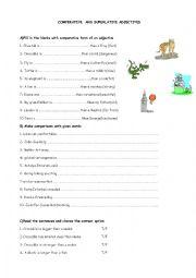comperative and superlative adjectives